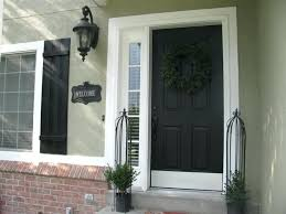 Interior Front Door Color Ideas Front Door Paint Ideas Pinterest Image Type Exterior Brick House