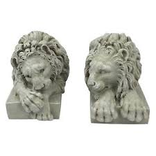 lions statues design toscano lions from the vatican sculptures set of two lion