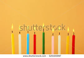 hanukkah candles colors hanukkah stock images royalty free images vectors