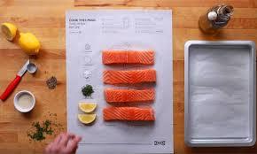 ikea creates ingenious cook this page cookbook