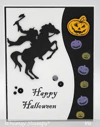 halloween dies headless horseman die set whimsy stamps