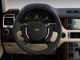 land rover 2009 image 2009 land rover range rover 4wd 4 door hse steering wheel