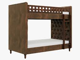 restoration hardware chesterfield sofa restoration hardware chesterfield leather bunk bed 3d model max