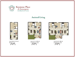 floor plans for assisted living facilities amenities floor plans keystone place at forever green