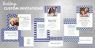 Royal Blue Wedding Invitations Custom Royal Blue Wedding Invitations U0026 Thank You Notes Party City