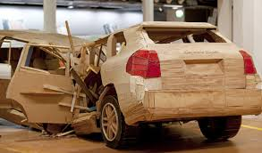 why would anyone build a porsche cayenne out of wood flatsixes