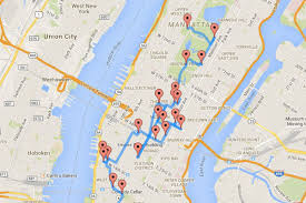 Empire State Plaza Map by The Perfect Walking Tour Of Nyc According To A Data Scientist