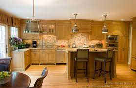 132 Best Kitchen Backsplash Ideas Images On Pinterest by Traditional Light Wood Kitchen Cabinets 132 Crown Point Com