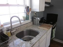 White Kitchen Sink Faucet Furniture Interesting Cambria Quartz Countertop For Your Kitchen