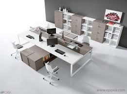 bureau en open space bureau open space atreo epoxia mobilier