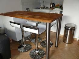 table haute cuisine bois table bar cuisine ikea intérieur intérieur minimaliste