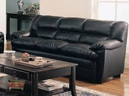 excellent popular of black leather sofa set with fantastic in