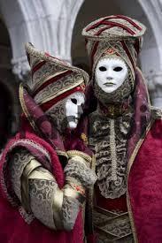 carnivale costumes two costumes and masks carnevale di venezia carnival in venic