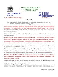 ph d m s anna univ syllabus jan 2016 water pollution solar cell