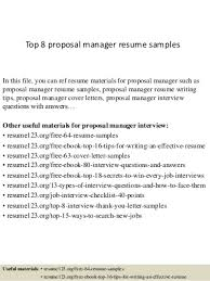 Sales Consultant Job Description Resume by Proposal Manager Linkedin