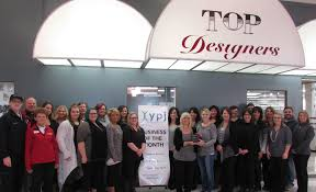 top designers salon u0026 spa earns ypj october business of the month