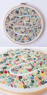 modern embroidery patterns highlight the collaborative nature of