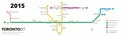 Subway Station Map by Mapping An Accessible Ttc