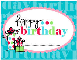 birthday card free happy birthday card to print free printable