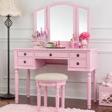 Pink Vanity Table Pink Vanity Set Makeup Vanities You Ll Wayfair