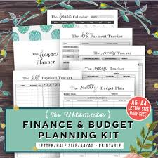 monthly budget planner template financial planner budget planner printable finance zoom