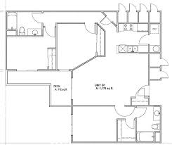 layout floor plan las ventanas apartment