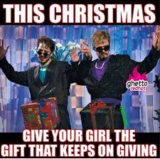 Christmas Meme - this christmas ghetto red hot