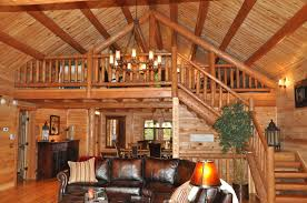 attractive lofted barn cabin plans 5 loft area above great room
