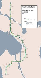 Light Rail Map Seattle Seattle U0027s Monorail Plan Transit Miracle Or Urban Toy