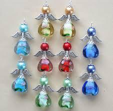 10x handmade guardian angel charms pendants lampwork flower heart