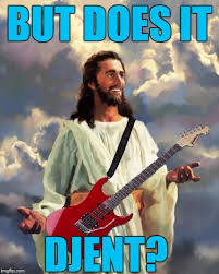 Djent Meme - the devine question imgflip