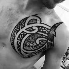 73 amazing unique chest tattoos designs and ideas made by black