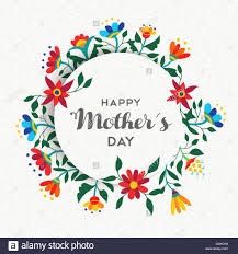 Mother S Day Designs Happy Mothers Day Quote Text Background Design With Spring Stock