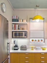 kitchen microwave ideas saving space 15 ways of mounting microwave in cabinets open