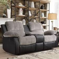 Two Tone Reclining Sofa 19 Best Grey Couches Images On Pinterest Home Ideas Living Room