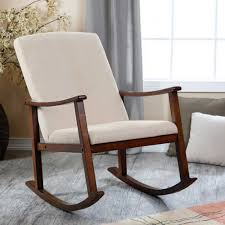 Mid Century Rocking Chair For Sale Wooden Rocking Chair For Nursery In Decorating