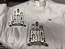 Pearl Jam Halloween Shirt Inside The Rock Poster Frame Blog Pearl Jam Milwaukee Poster By