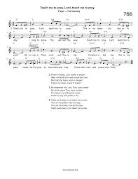 hymn teach me to pray lord teach me to pray