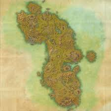 Treasure Map 3 Skyrim Tes Online Map Of Auridon