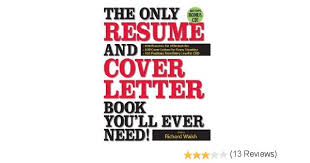 the only resume and cover letter book you u0027ll ever need 600
