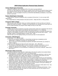 Example Of Resume For College Application by College Essay Questions Admissions Dissertation Masters Law