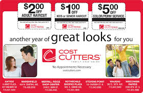 haircut and perm coupons stevens point money saver magazine