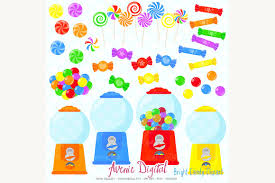 candy shop clipart illustrations creative market