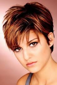 womans short hairstyle for thick brown hair short hairstyles unique short hairstyles for thick hair short