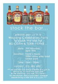 stock the bar shower party invitations sweetkingdom co