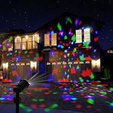 sentik 3 led rotating spotlight projector light with