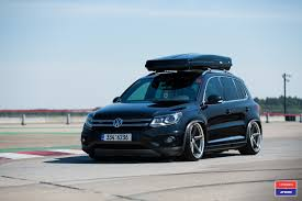 black volkswagen tiguan black volkswagen tiguan boasts thule roof rack and more goodies