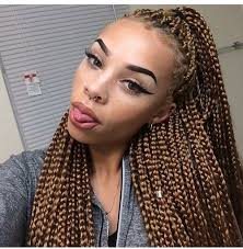 Light Brown Box Braids 31 Images About Mèche Africaine On We Heart It See More About
