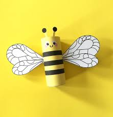 bumblebee toilet tube craft printable how to make a paper roll