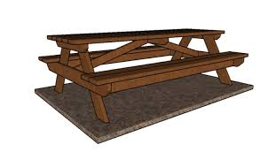 8 foot picnic table plans howtospecialist how to build step